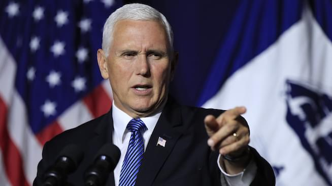 Ronn Owens Report: Pick your poison, Pence or Trump?