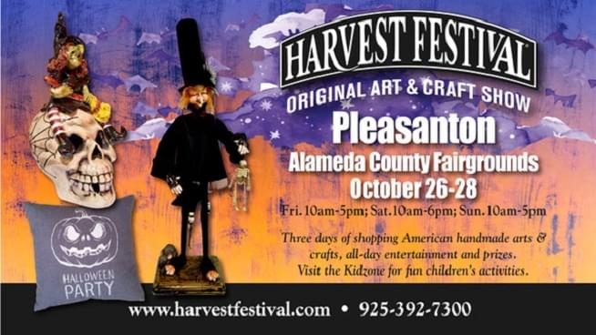 October 26-28: Pleasanton Harvest Festival
