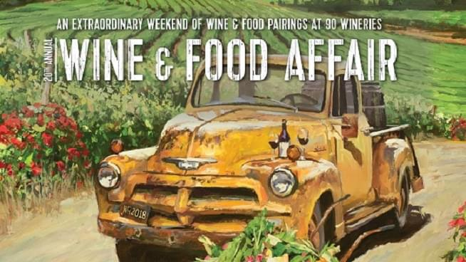 November 3-4: Wine & Food Affair