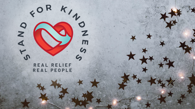 December 12 – December 25: Stand For Kindness Clothing And Toy Drive