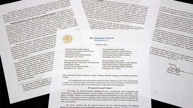 Ronn Owens Report: Overview of the Mueller Report & Barr's Letter