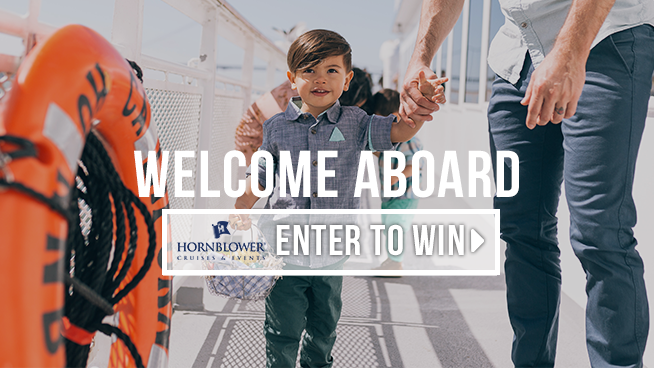 Enter For Your Chance To Win Two Tickets To A Hornblower Cruise!