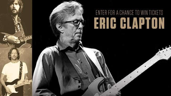 Enter For Your Chance To Win Tickets To Eric Clapton!