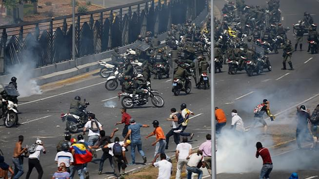 The Pat Thurston Show: Clashes in Venezuela Over Opposition Leader Uprising