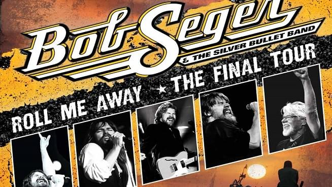September 26: Bob Seger & The Silver Bullet Band
