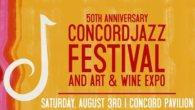August 3: Concord Jazz Festival