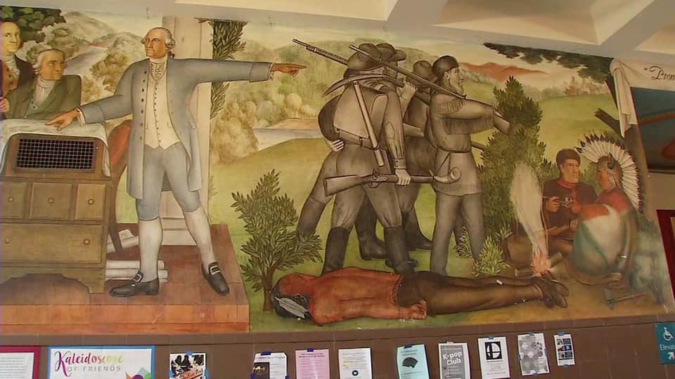 Updates on the George Washington High School Murals with Education Reporter Jill Tucker
