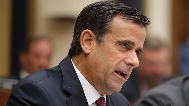 Westwood One's Linda Kenyon on Trump's Nomination of John Ratcliffe