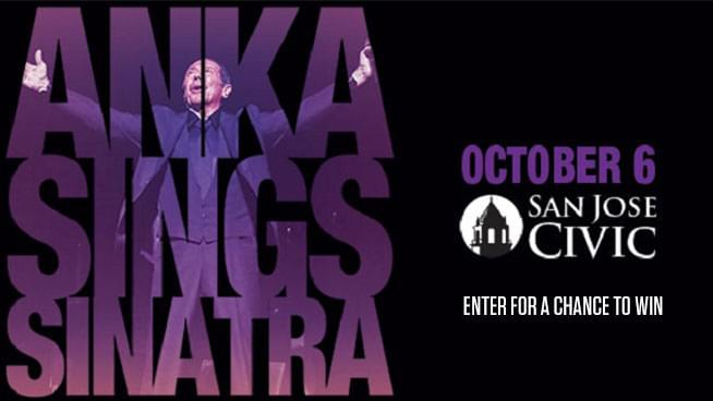 Enter for your chance to win tickets to see Paul Anka!