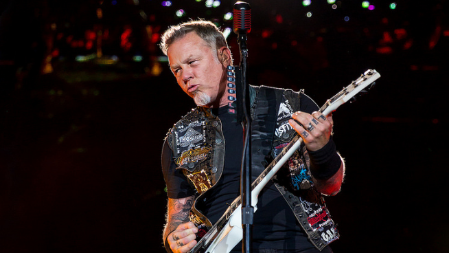 Metallica To Play National Anthem For Game 4