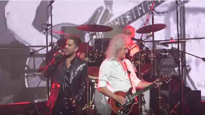 Adam Lambert says first shows with Queen were 'terrifying'