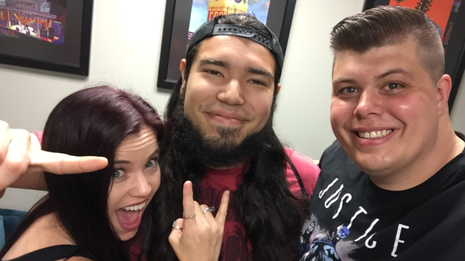 Watch Baby Huey & Chasta's Interview With Marcos Leal From Shattered Sun
