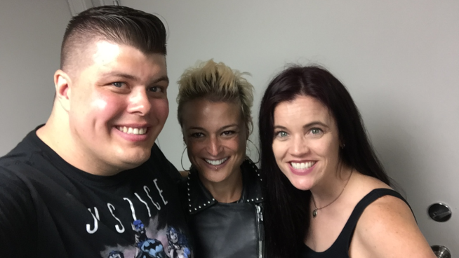 Watch Baby Huey & Chasta's Interview With Monique Powell From Save Ferris