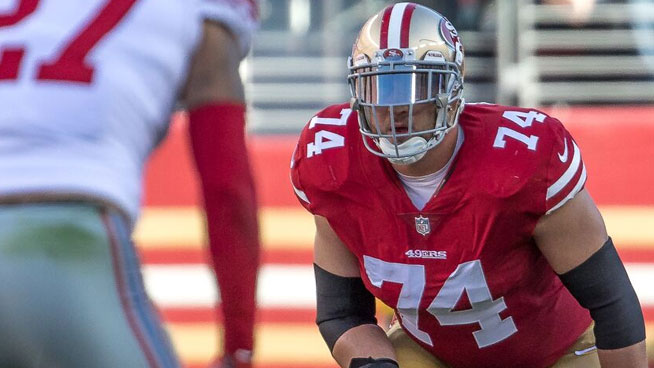 "Joe Staley sings Creed's ""Arms Wide Open"" on Lamont & Tonelli"