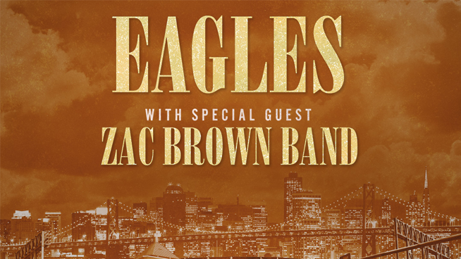 September 20: Eagles with Zac Brown Band