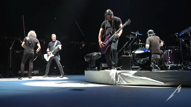 "Watch Metallica ""The God That Failed"" from Madrid"