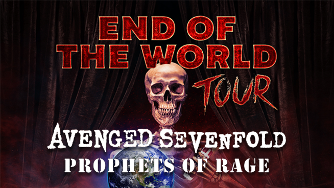 August 24: Avenged Sevenfold & Prophets of Rage