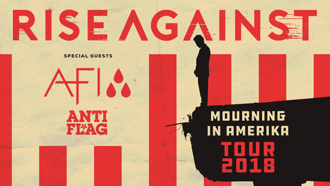 September 28: Rise Against with AFI and Anti-Flag