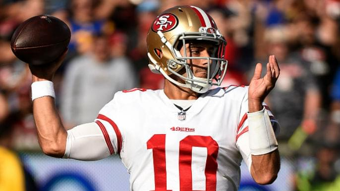 49ers Notebook: Jimmy Garoppolo on Dwight Clark Day, Tarvarius Moore shaping up at safety