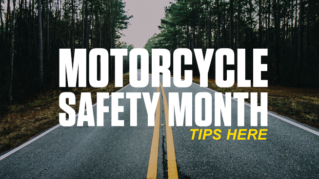 WATCH: Motorcycle Safety Awareness Month Videos