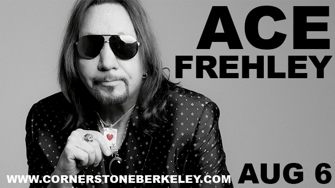 August 6: Ace Frehley
