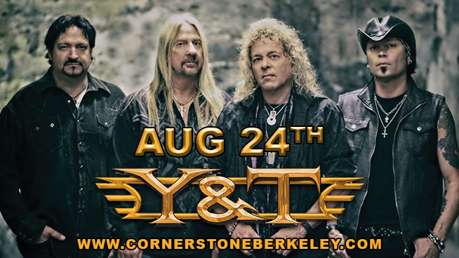 August 24: Y&T