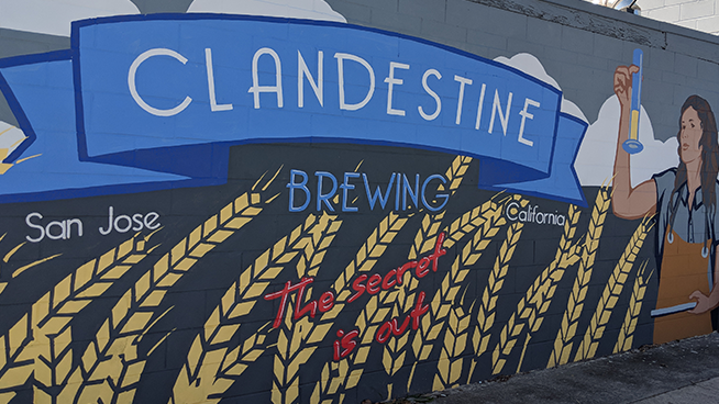 The secret is out on Clandestine Brewing