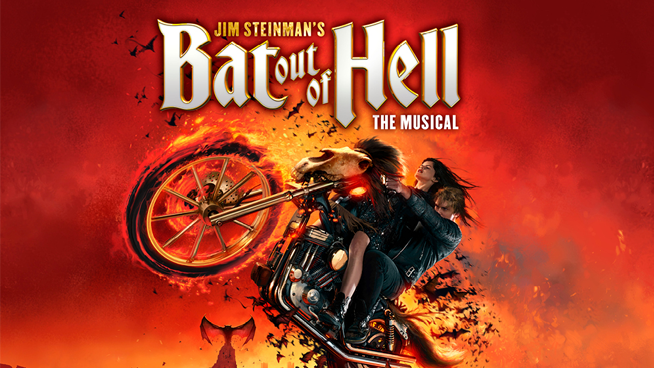 "December 4 – December 23: Jim Steinman's ""Bat Out Of Hell"" The Musical"