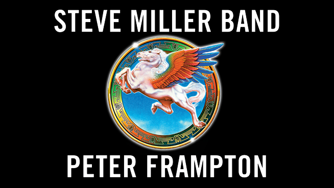August 18: Steve Miller Band with Peter Frampton
