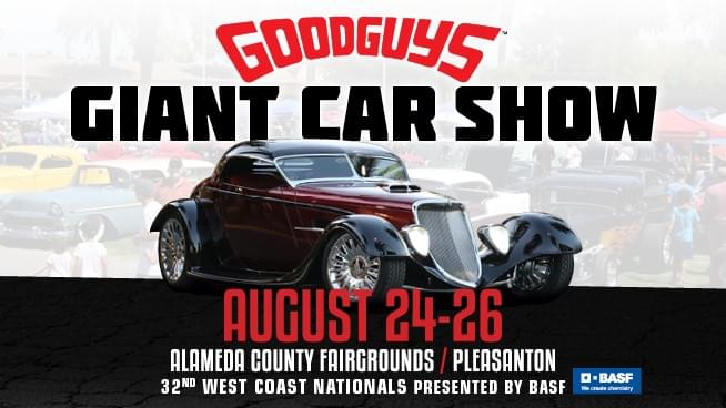 August 24 – August 26: Goodguys Giant Car Show