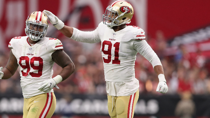 49ers Camp Notebook: Shanahan says Armstead's hamstring injury is 'somewhat' serious
