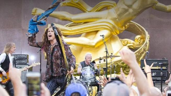 Aerosmith announces Las Vegas residency and performs classic hits on Today Show