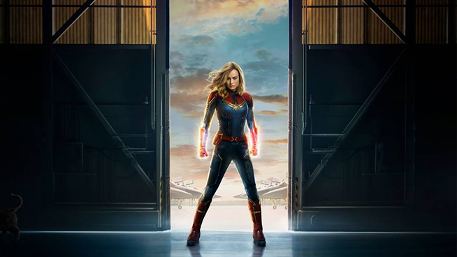 Watch The New Trailer For Captain Marvel