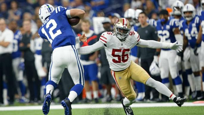 49ers Notebook: Foster returns to practice, Goodwin pokes fun at Chiefs receiver