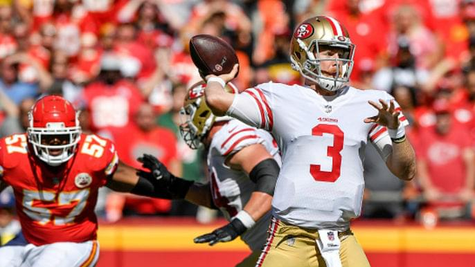 With Jimmy Garoppolo potentially out for season, 49ers express confidence in C.J. Beathard