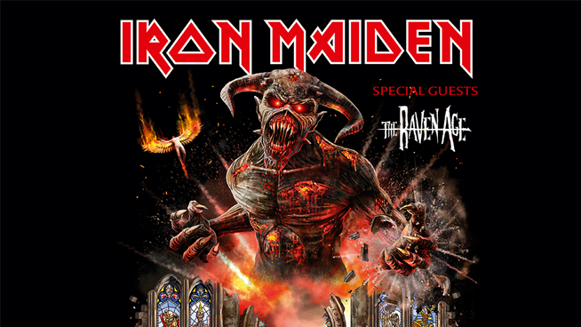 September 10: Iron Maiden