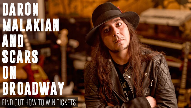 You Could Win Tickets To Daron Malakian And Scars On Broadway