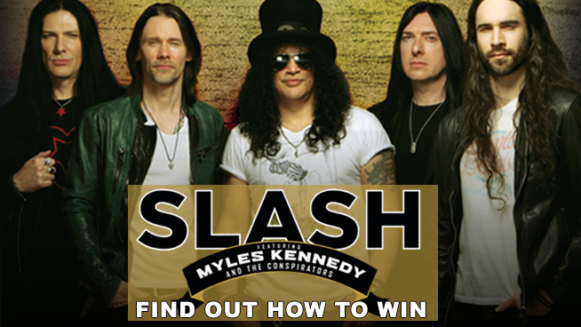 You Could Win Tickets To Slash Featuring Myles Kennedy!