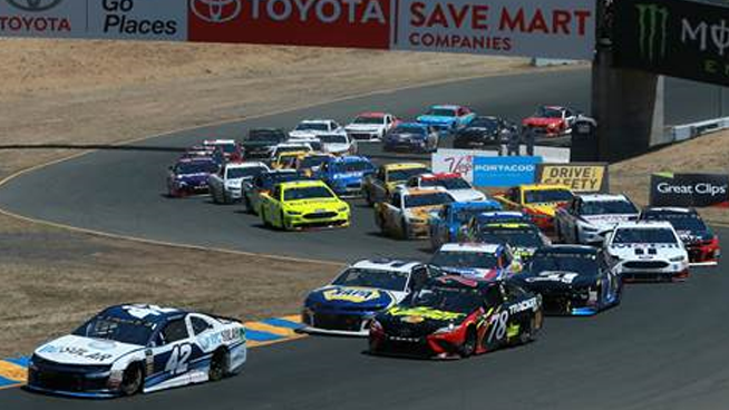 June 21 – June 23: Toyota/Save Mart 350