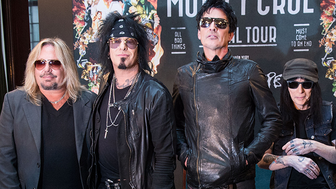 "Listen To Motley Crue's Cover Of ""Like A Virgin"""