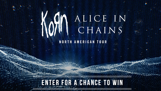 Tickets To See Korn And Alice In Chains