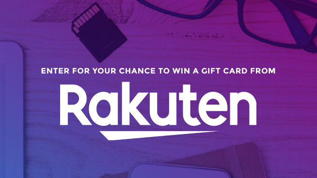 Try To Win A $50 Rakuten Gift Card