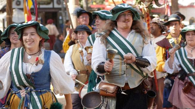 September 14-October 20: Northern California Renaissance Faire