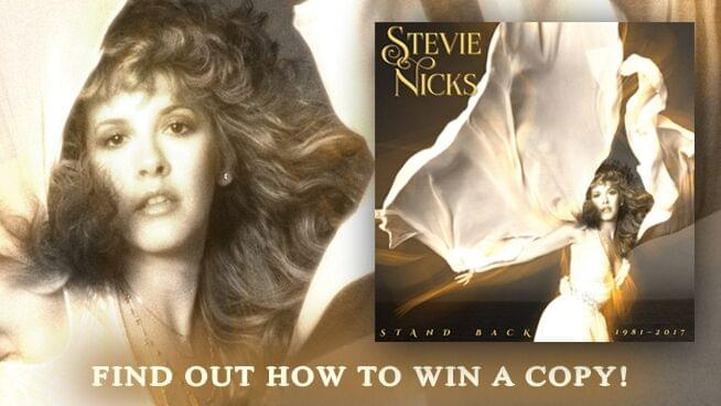 "Enter For A Chance To Win Stevie Nicks: ""Stand Back"" 18-Track Single CD"