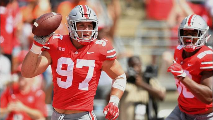 49ers draft Nick Bosa with No. 2 overall pick