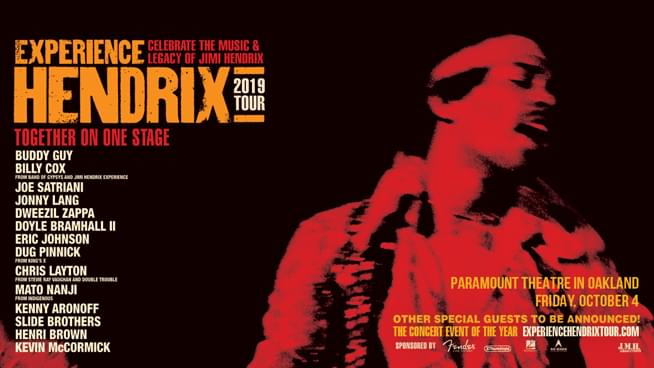 October 4: Experience Hendrix