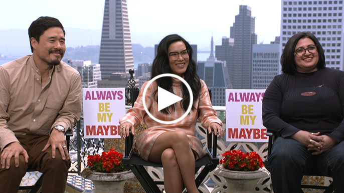 Ali Wong and Randall Park talk new Netflix rom-com 'Always Be My Maybe'