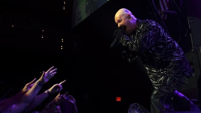 Rob Halford Gives Concert Fan The Boot