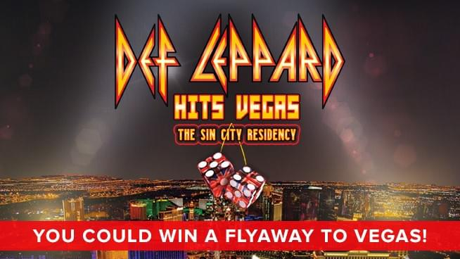 You Could Win A Flyaway To Las Vegas To See Def Leppard!