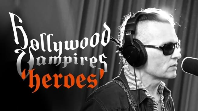 Watch Hollywood Vampires' New Music Video For Heroes